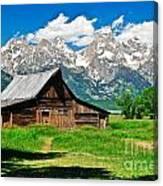 Moulton Barn Le Canvas Print