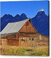 Moulton Barn Sunrise Canvas Print