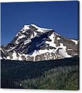 Mount Geduhn Livingston Range Glacier National Park Usa Canvas Print