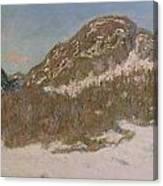 Mount Kolsaas In Sunlight Canvas Print