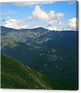 Mount Lafayette From Top Of Cannon Mountain Canvas Print
