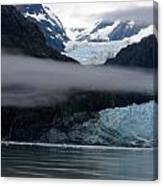 Mount Margerie At Glacier Bay Alaska Usa Canvas Print