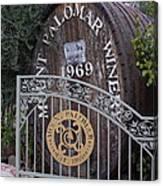 Mount Palomar Winery Canvas Print