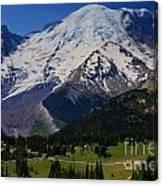 Mount Rainier Again Canvas Print