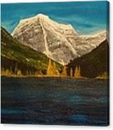 Mount Robson Alberta Canvas Print