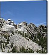 Mount Rushmore Full View Canvas Print
