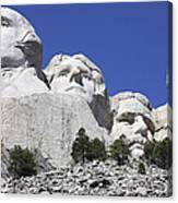 Mount Rushmore National Memorial, South Canvas Print