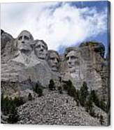 Mount Rushmore National Monument -2 Canvas Print