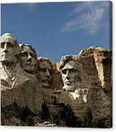 Mount Rushmore National Monument -5 Canvas Print
