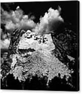 Mount Rushmore, Near Keystone, South Canvas Print