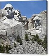 Mount Rushmore Vertical Canvas Print