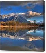 Mount Si Reflection Canvas Print