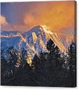 Mount Si Winter Wonder Canvas Print