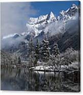 Mount Siguniang Is An Area Canvas Print