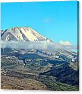 Mount St Helens And Castle Lake Canvas Print