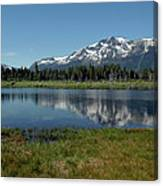 Mount Tallac View Of The Cross Canvas Print