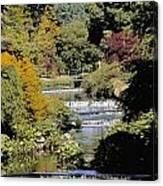 Mount Usher Gardens, River Vartry, Co Canvas Print
