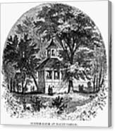 Mount Vernon, 1883 Canvas Print
