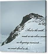 Mount Washington Climb Canvas Print