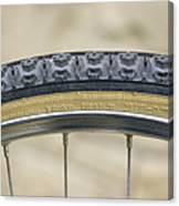 Mountain Bike Tyre Canvas Print