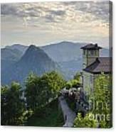 Mountain Bre Canvas Print