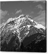 Mountain Cascade Canvas Print