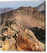 Mountain Climber Canvas Print