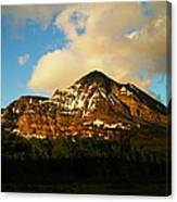 Mountain In The Morning Canvas Print