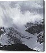 Mountain Panoramic In Winter, Spray Canvas Print