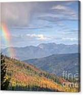Mountain Rainbow Canvas Print
