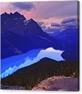 Mountain Scenery Canvas Print