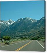 Mountains Ahead Canvas Print