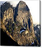 Mountains Of Yosemite . 7d6167 . Vertical Cut Canvas Print