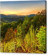 Mountainside Canvas Print