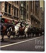 Mounted Police Canvas Print