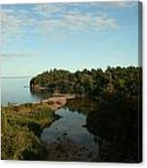 Mouth Of Beaver River Canvas Print