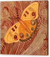 Movement Butterfly Canvas Print