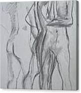 Movement Study Canvas Print