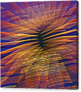 Moving Abstract Lights Canvas Print