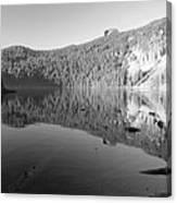 Mowich Lake Mono Print Canvas Print