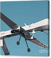 Mq-1 Predator Drone Canvas Print