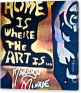 Ms. Marilyn Canvas Print
