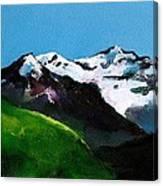 Mt Aspiring Canvas Print