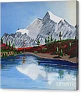 Mt Challenger Canvas Print