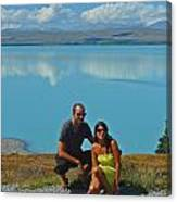 Mt. Cook Lake Canvas Print