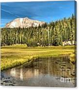 Mt Lassen Reflections Canvas Print