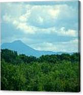 Mt Mansfield From Malletts Bay Canvas Print