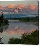Mt. Moran Canvas Print
