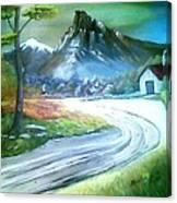 Mt. Of Hope Canvas Print