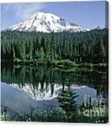 Mt. Ranier Reflection Canvas Print